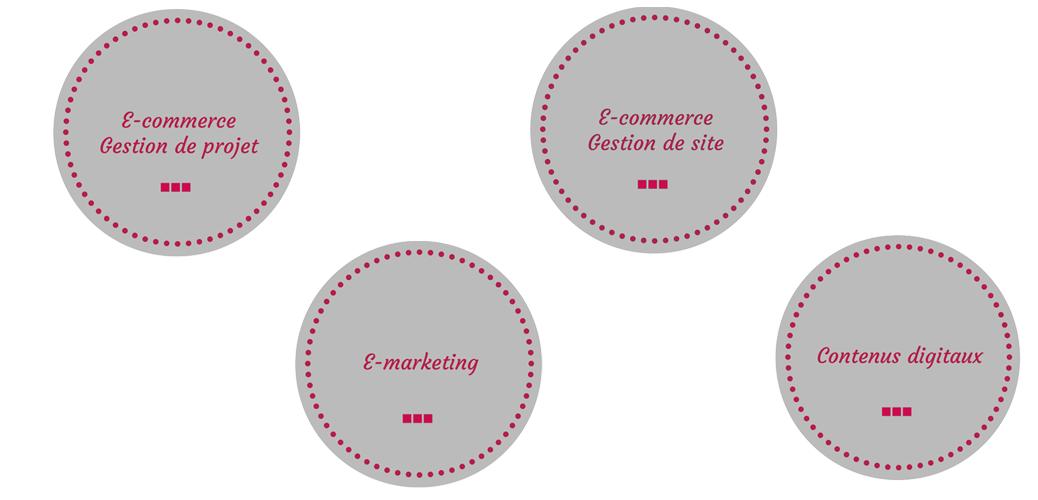 Projets e-commerce et contenus digitaux